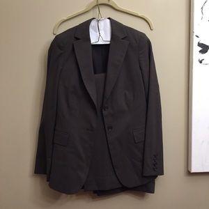 Banana republic suit set jacket blazer pants 2 4